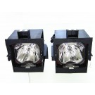 Original Inside lamp for BARCO ID H500   (dual) projector - Replaces R9841827