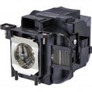 Original Inside lamp for EPSON PowerLite 1264 projector - Replaces ELPLP88 / V13H010L88